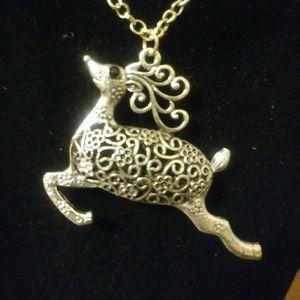 Fashion necklaces w/a charm.